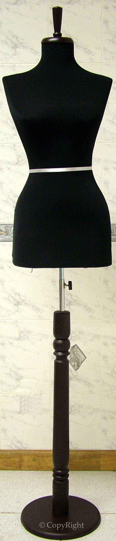 Female Stand black burgundy